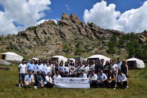 2019年6月にモンゴルで開催されたOB・OG研究集会