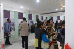 国際交流基金ニューデリー日本文化センターのギャラリーでの写真展「デリーの遺産」