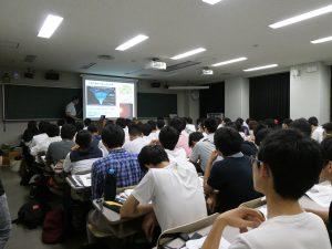 オープンキャンパスでの講演の様子