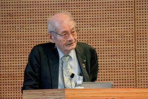 ノーベル化学賞受賞が発表されたばかりの吉野彰氏の基調講演