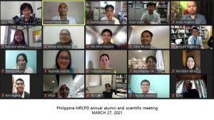 2021年3月にフィリピンのOB・OGを対象にオンラインで開催された研究集会