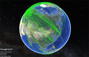 ATLAS実験のWorldwide LHC Computingモニター