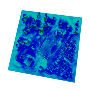 本シミュレーションにより実施した、三次元連成地震応答解析結果
