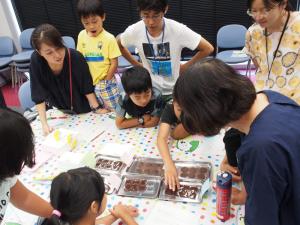 子供向けイベント「チョコレイト・サイエンス」