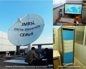 図1:小型衛星管制用地上局