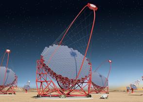 CTA大口径望遠鏡のイメージ図