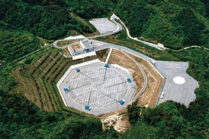 MUレーダー(信楽MU観測所)