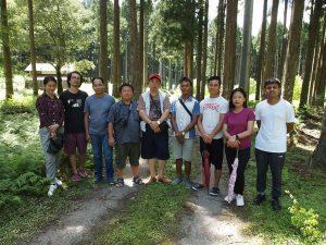 ブータン、ミャンマーの若手研究者が日本農村研修