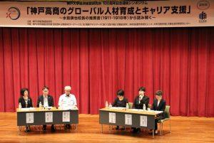 2019年9月6日 シンポジウム 「神戸高商のグローバル人材育成とキャリア支援」