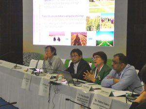 UNCCD/COP14 サイドイベントの様子