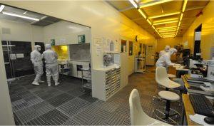 ナノデバイス・バイオ融合科学研究所スーパークリーンルーム