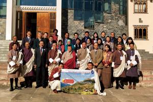 国内外で開催してきた東南アジアセミナーを1976年の開始以来初めてブータンで開講