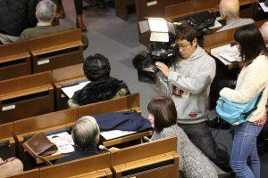 べっぴんさん NHKの取材風景28.11.29