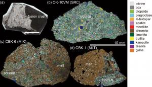 チェリャビンスク隕石の相分布マッピング