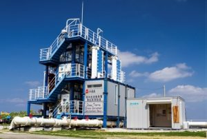 沖縄県久米島の海洋温度差発電実証プラント