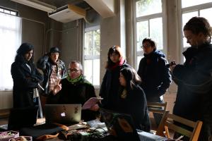 一般市民も参加したオープンフォーラム(2016年1月30日京都市元立誠小学校)