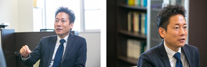 研究への思い、サイエンスへの思いを熱く語る柳田教授。力強い視線で、サイエンスと社会の未来を見据えている。