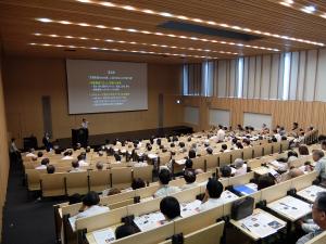 名古屋大学で開催したひので衛星10周年記念講演会「太陽観測から宇宙と地球を探る」