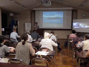 金沢大学サテライト・プラザで開催した公開講座の様子